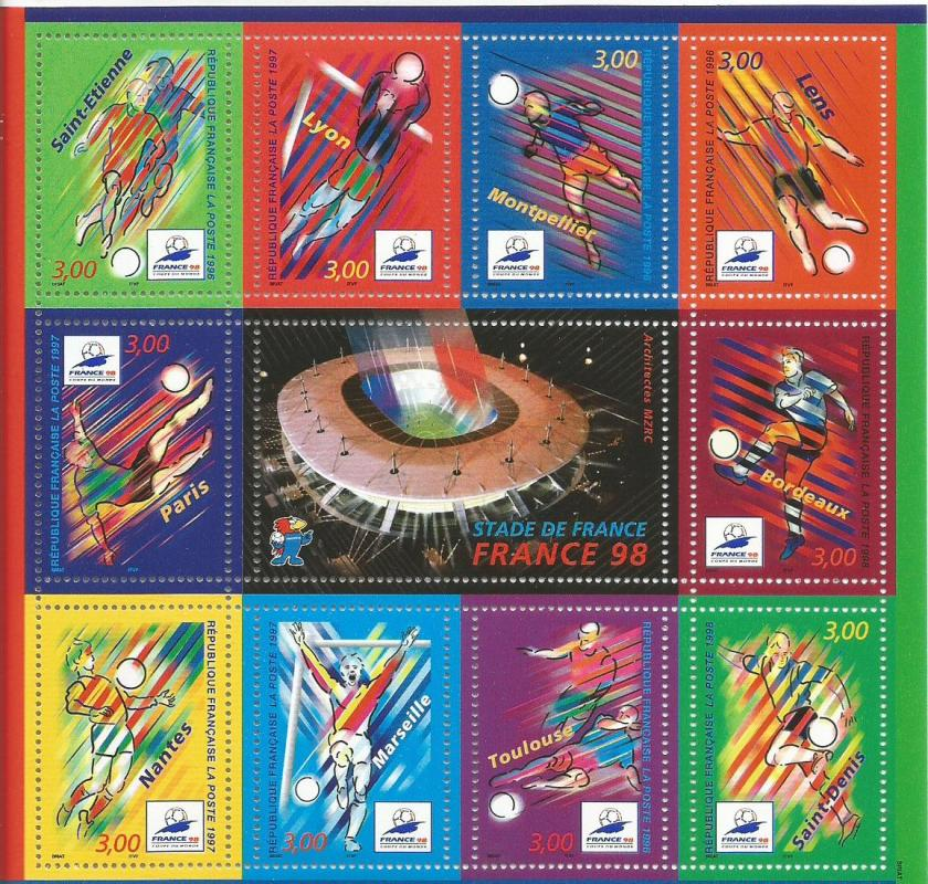 FRANCE 1998 MS WC