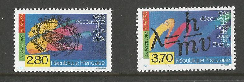 FRANCE EUROPA 1994 DISCOVERIES