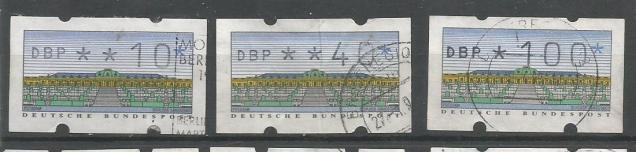 GERMANY ATM CASTLE TYPE 1