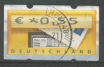 GERMANY ATM MAIL BOX