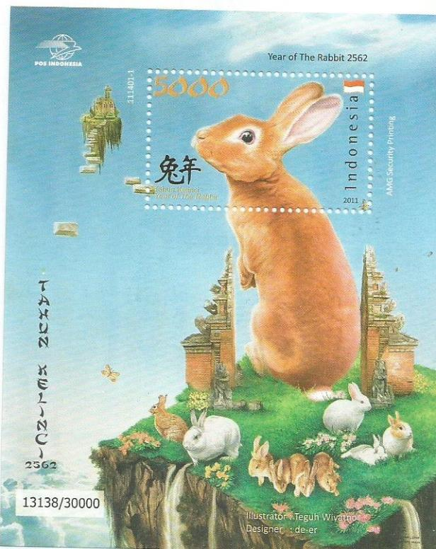 INDONESIA MS YEAR OF RABBIT 11