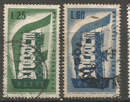 ITALY EUROPA 1956