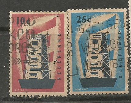NETHERLANDS EUROPA 1956