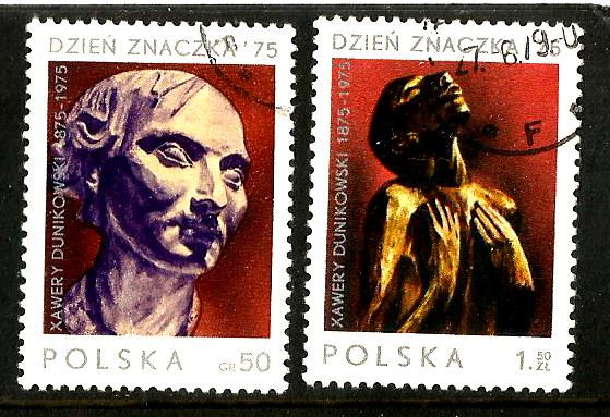 POLAND 1975 PAINTINGS