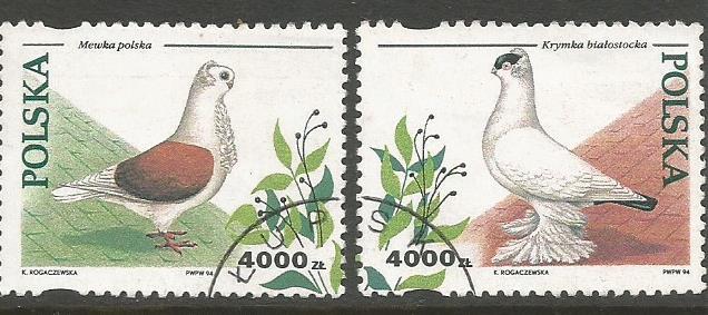POLAND BIRDS 2V