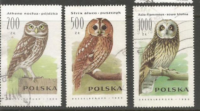 POLAND OWLS 1990 1