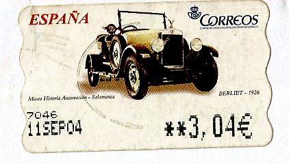 SPAIN ATM CAR 1936