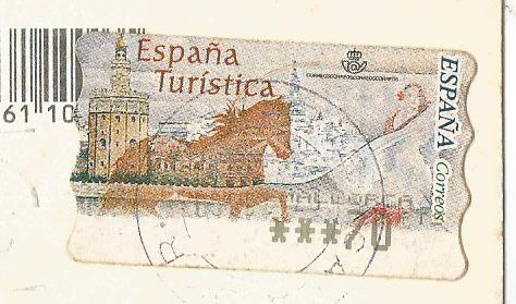 SPAIN ATM HORSE