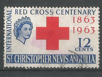 ST CHRISTOPHER NEVIS RED CROSS