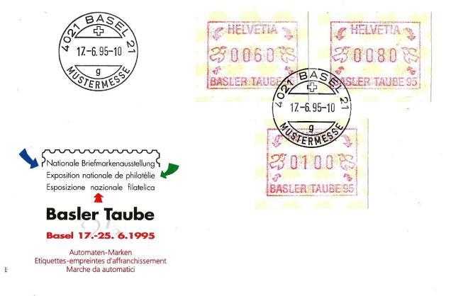 SWITZERLAND ATM FDC