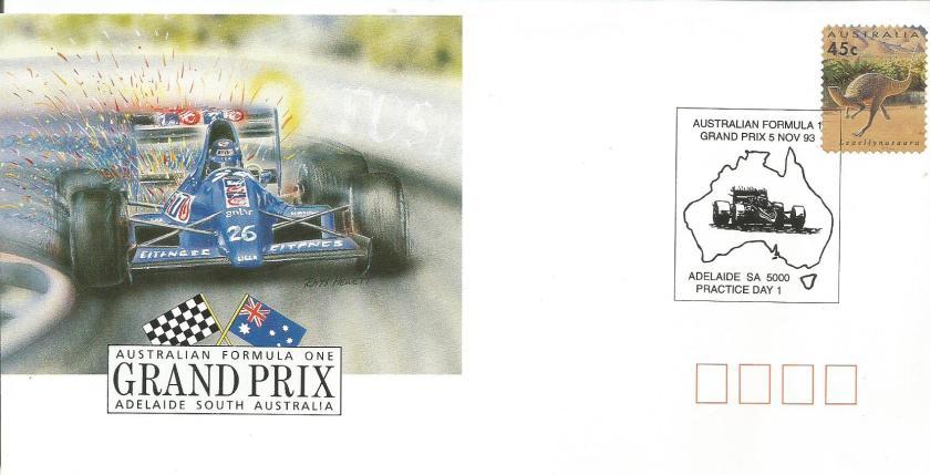 AUSTRALIA 1993 F1 CVR 2