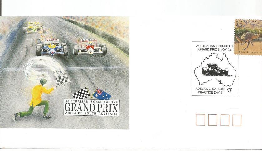 AUSTRALIA 1993 F1 CVR 3