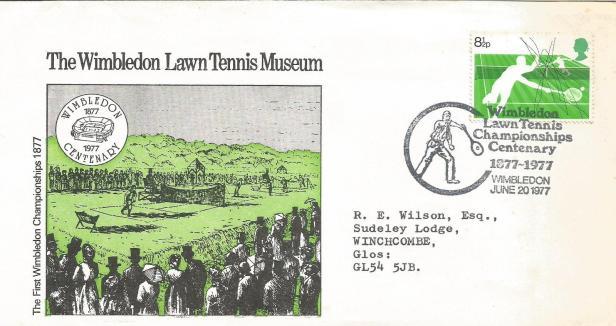COVER WIMBLEDON MUSEUM