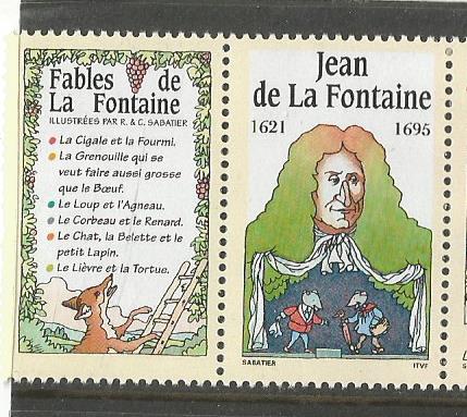 FRANCE 1994 LA FONTAINE 1