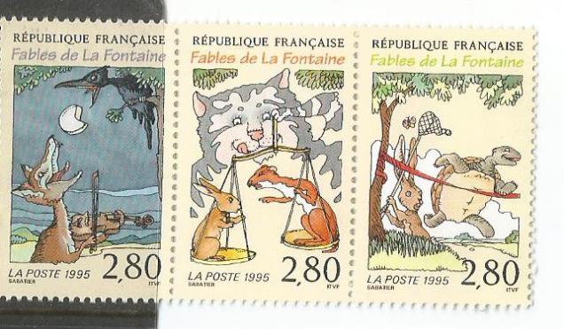 FRANCE 1994 LA FONTAINE 3