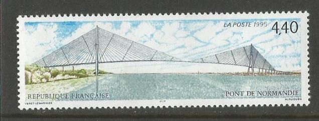 FRANCE 1994 NORMANDY BRIDGE