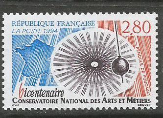 FRANCE 1994 PENDULUM