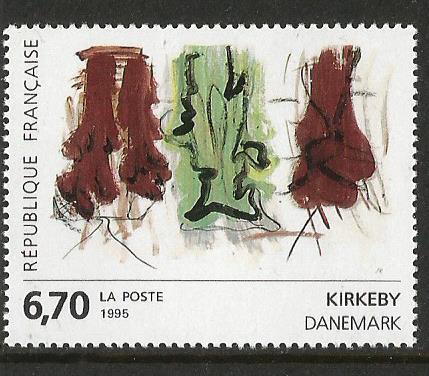 FRANCE 1995 PAINTINGS DENMARK