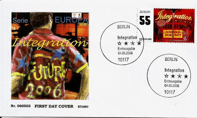 GERMANY FDC EUROPA 2006