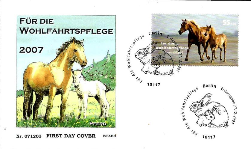 GERMANY PETS HORSE RABBIT
