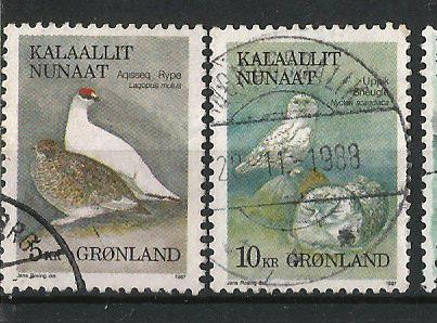 GREENLAND BIRDS 1989