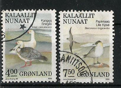 GREENLAND BIRDS 1991