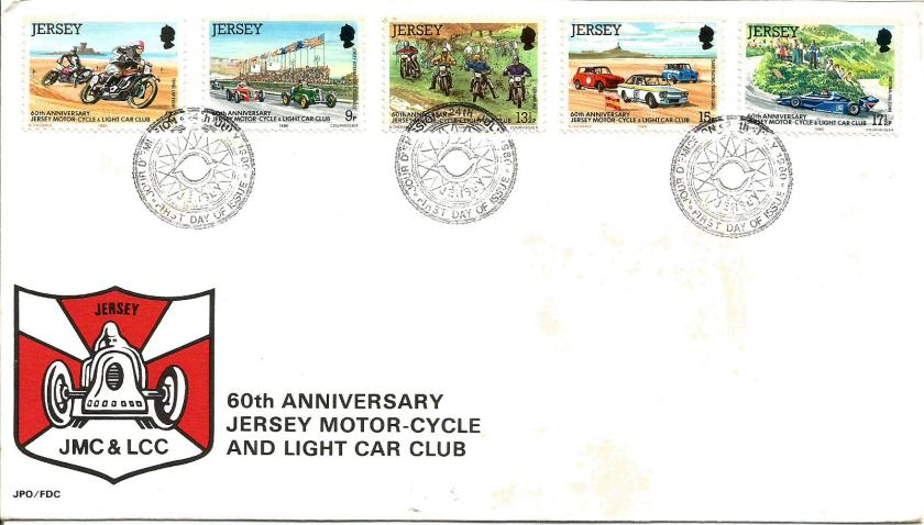 JERSEY FDC CARS