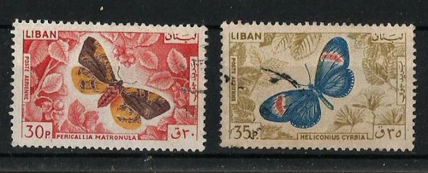 LEBANON 1965 BFLY 1