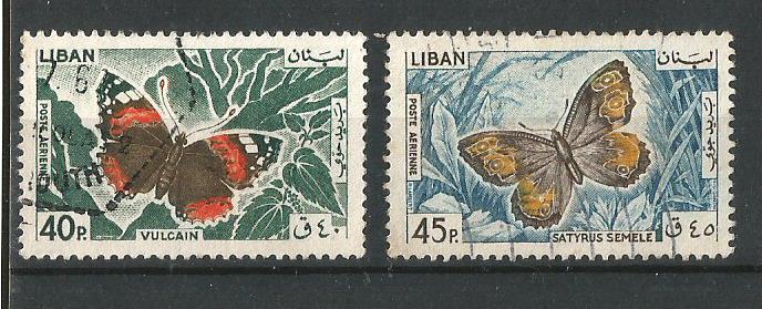 LEBANON 1965 BFLY 2