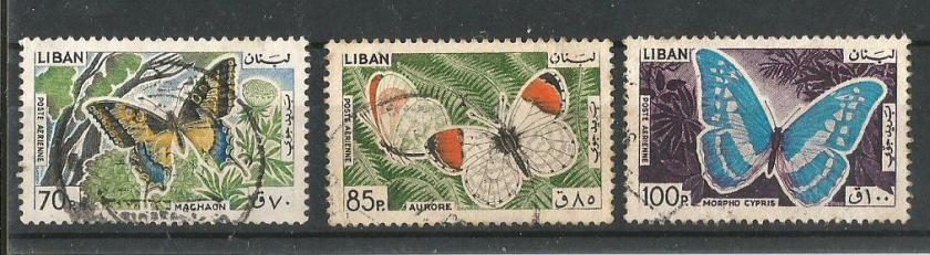 LEBANON 1965 BFLY 3