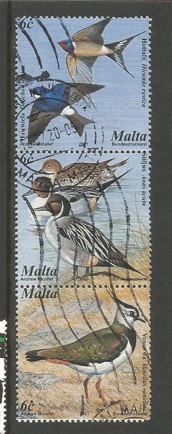 MALTA BIRDS 3V