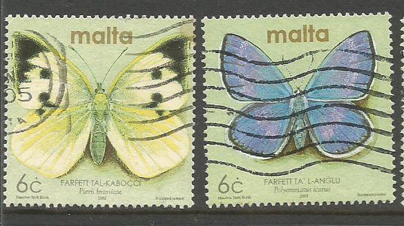 MALTA BUTTERFLIES 1
