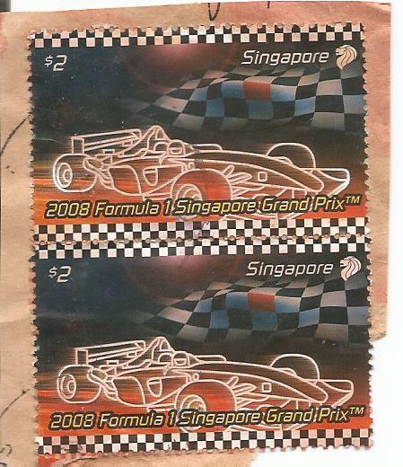 SINGAPORE 2008 F1