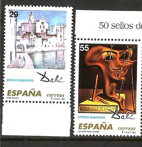 SPAIN 1994 DALI PAINTINGS2