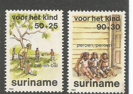 SURINAME 84 CHILDREN 2