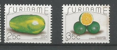 SURINAME FRUITS 2