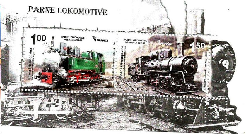 BOSNIA MS RAILWAYS