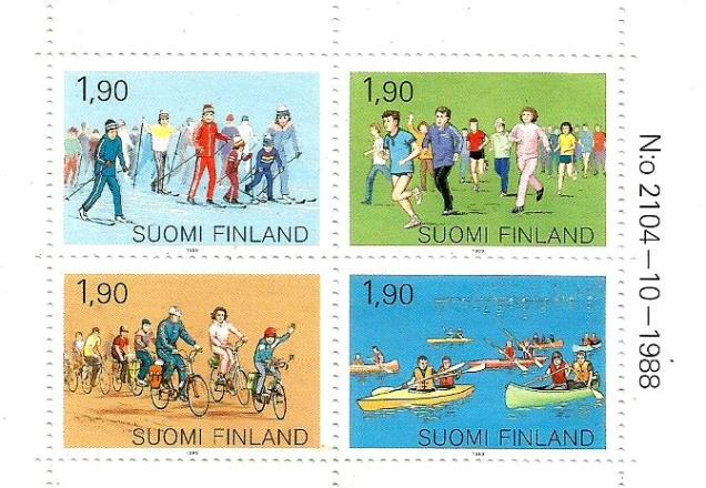 FINLAND BOOKLET SPORTS 1