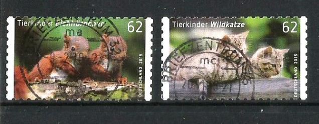 GERMANY 15 BABY ANIMALS