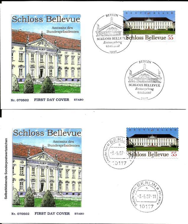 GERMANY FDC BILLEUVE