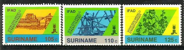 SURINAM AGRICULTURE