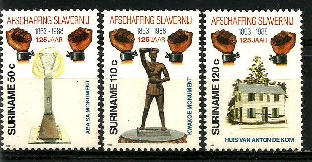 SURINAM SLAVERY