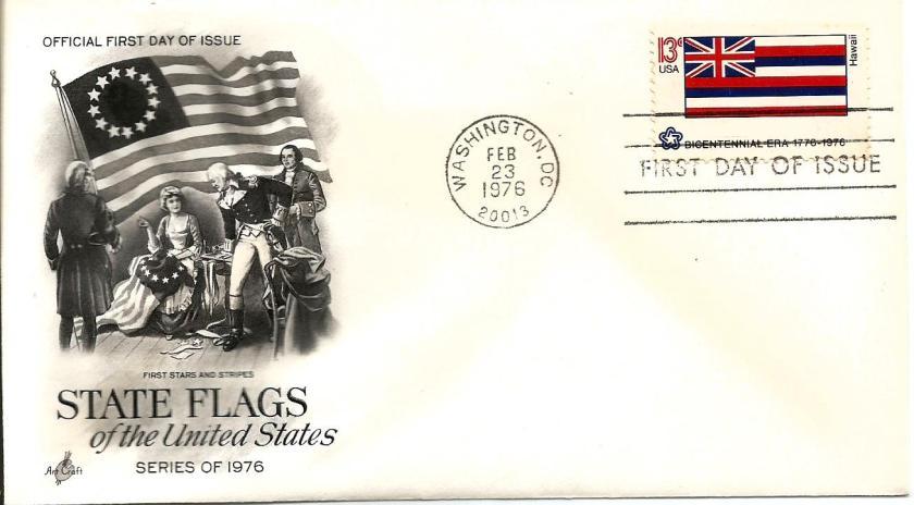 USA FLAGS HAWAII