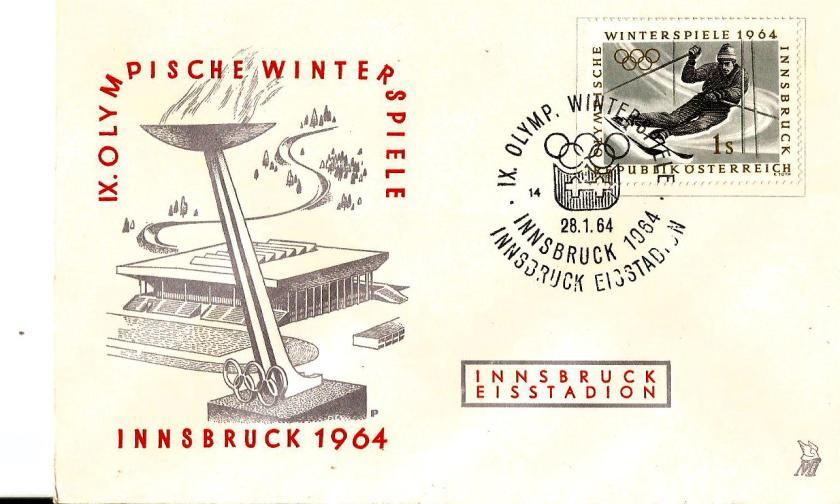 AUSTRIA 1964 W OLY