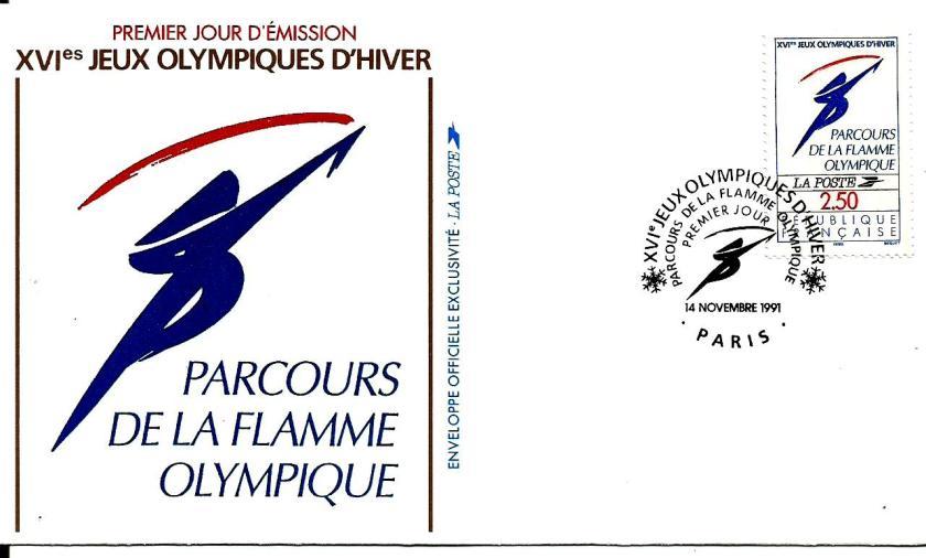 FRANCE 1992 W OLY 11