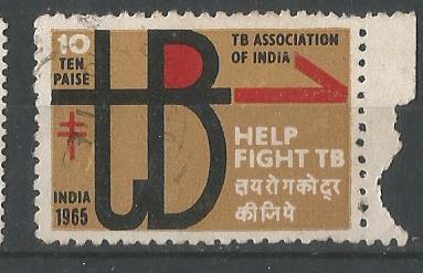 INDIA TB SEAL 1965