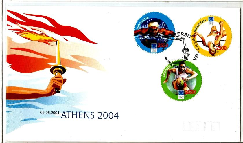 INDONESIA 2004- ATHENS OLYMPICS 2004