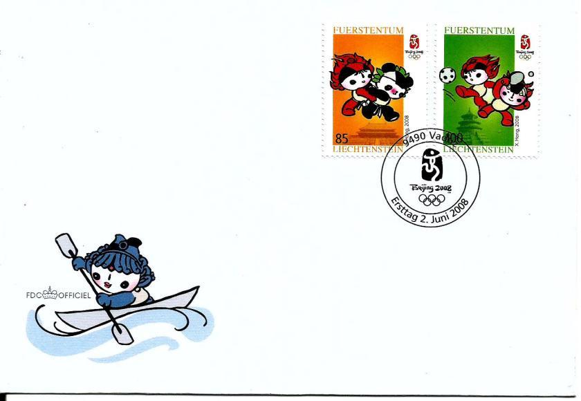 LIECHTEN 2008 OLYMPICS