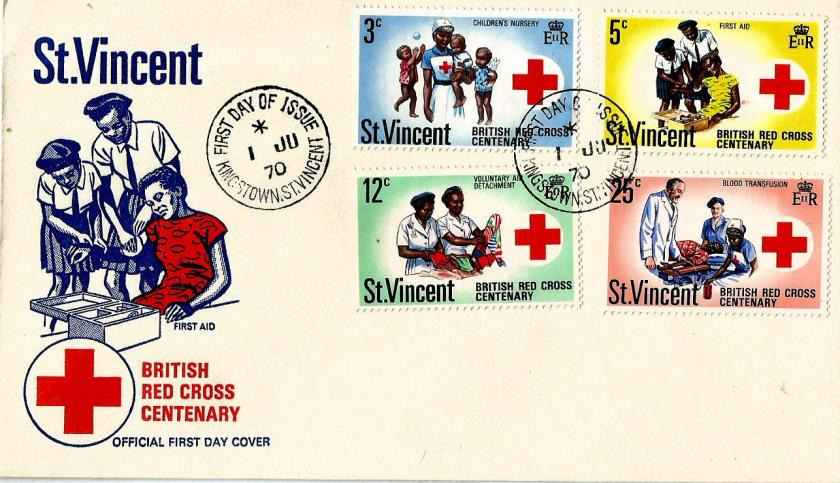 ST VINCENT RED CROSS