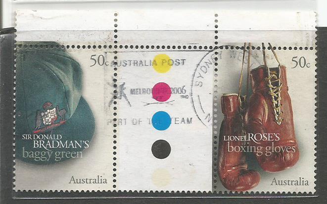AUSTRALIA BRADMAN BAGGY GREEN 1